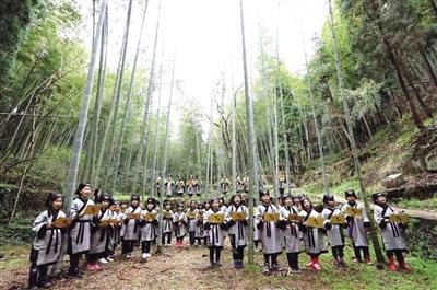 从竹文化旅游节到电商红利惠及农户 乐清智仁乡变先天不足为自然优势